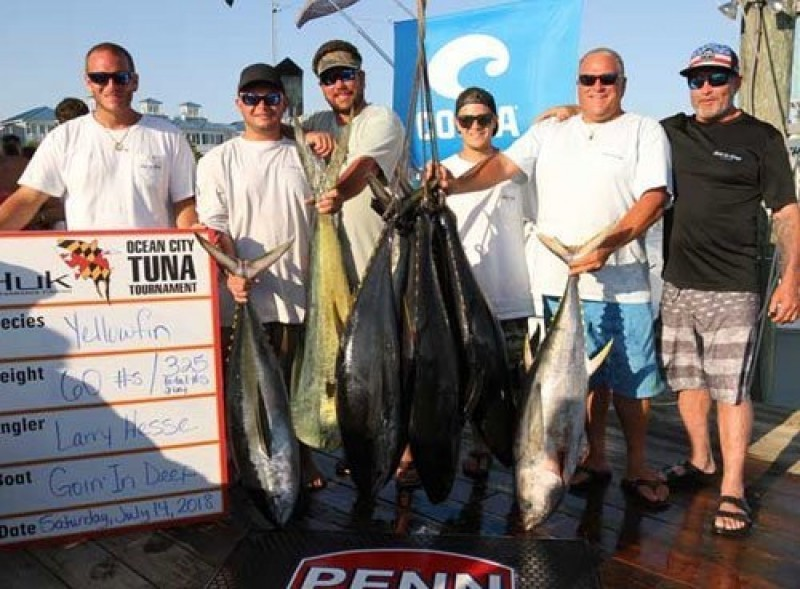 Awards & Fees   OC Tuna Tournament